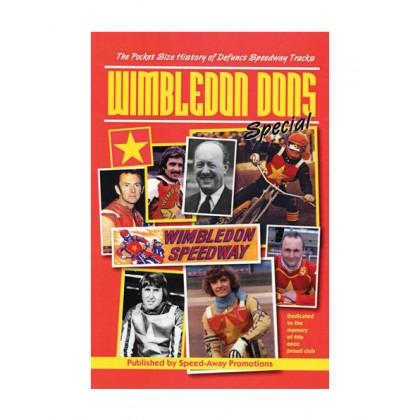 Defunct Tracks book - Wimbledon Dons