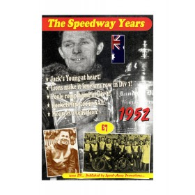The Speedway Years - 1952