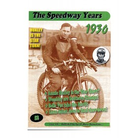 The Speedway Years - 1930
