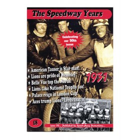 The Speedway Years - 1931