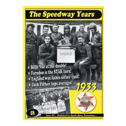 The Speedway Years - 1933