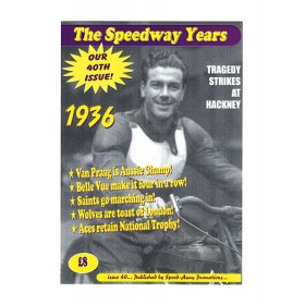 The Speedway Years - 1936